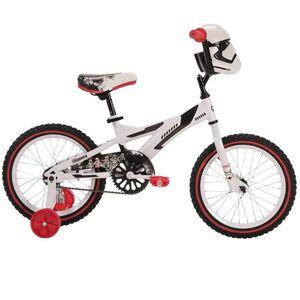 Huffy Star Wars Stormtrooper Boys' Bike w/Training Wheels, 16-inch +Accessories Bundle