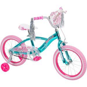 Huffy 21830 N Style Girls' Bike, Blue, 16-inch +Accessories Bundle