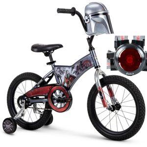 Huffy Star Wars Mandalorian Boys' Bike with Training Wheels 16-inch + Rear Light