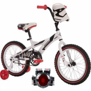 Huffy Star Wars Stormtrooper Boys' Bike 16-inch with Rear Light System