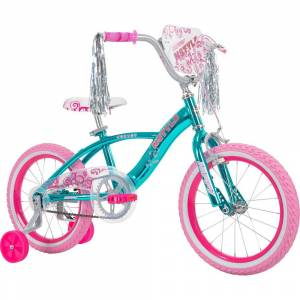Huffy N Style Girls' Bike Blue 16-inch with Rear Light System