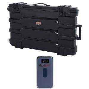 Gator 40-45 InchRoto Mold LCD/LED Case with Deco Gear Power Bank