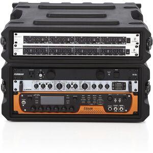 Gator USA Made Series 4U 19 Deep Molded Audio Rack w/ Deco Power Bank Bundle