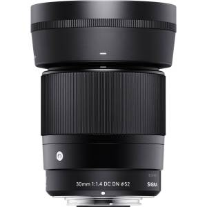 Sigma 30mm F1.4 DC DN Contemporary Lens for Sony E Mount 302965