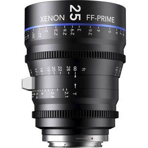 Schneider Kreuznach 25MM Xenon Full Frame 4K Prime XN 2.1 / 25 Feet Lens for Sony E Mounts
