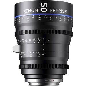 Schneider Kreuznach 50MM Xenon Full Frame 4K Prime XN 2.1 / 50 Feet Lens for Sony E Mounts