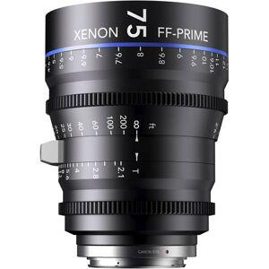 Schneider Kreuznach 75MM Xenon Full Frame 4K Prime XN 2.1 / 75 Feet Lens for Sony E Mounts
