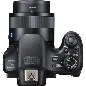 Sony DSC-HX400V/B 50x Opt Zoom Digital Camera + 64GB SD Card, Battery & Accessory Kit