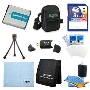 Special 8GB Card and NP-BG1 Value Battery Kit for Sony DSC-HX30V, HX20V, H90, HX1