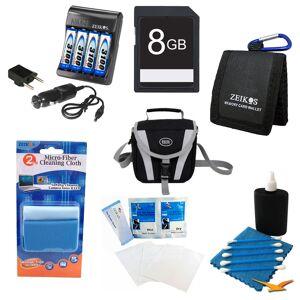 Special Advanced AA Battery 8GB Kit - Fujifilm S2950, S4200, S4500, CANON SX160, GE X500
