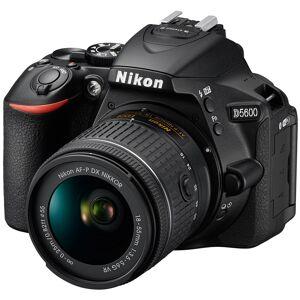Nikon D5600 24.2MP Digital SLR Camera w/AF-P 18-55mm f/3.5-5.6G VR Certified Refurbish