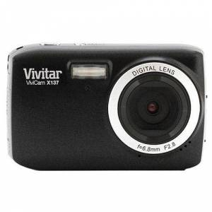 Vivitar VX137-BLK 12.1MP Digital Touch Screen Camera with 1.8-Inch LCD Screen