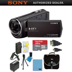 Sony HDR-CX405/B Full HD 60p Camcorder Bundle Deal (Black )