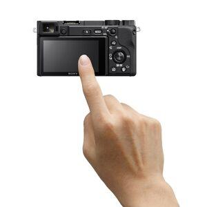 Sony a6400 4K Mirrorless Camera ILCE-6400M/B 18-135mm F3.5-5.6 OSS Zoom Lens Bundle