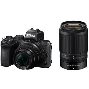 Nikon Z 50 DX-format Mirrorless Camera w/ NIKKOR Z DX 16-50mm & 50-250mm VR Lens