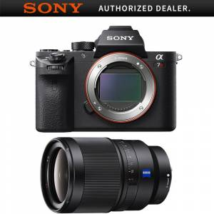 Sony a7R II Mirrorless Interchangeable Lens Camera Body with F1.4 35mm Lens Bundle