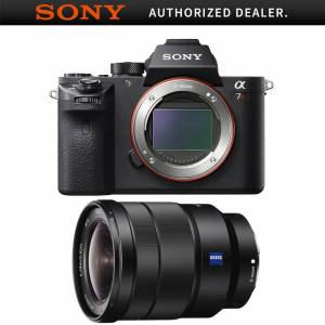 Sony a7R II Mirrorless Interchangeable Lens Camera Body with 16-35mm Lens Bundle