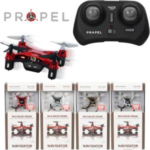 Propel Navigator Pace Micro Drone Wireless Quadcopter (Assorted Colors) - NETIPMD