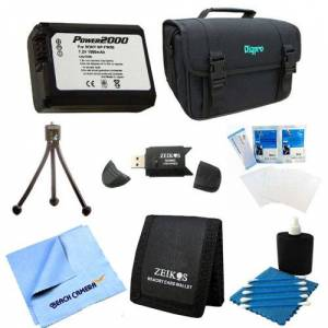 Special Loaded Value NP-FW50 Battery Kit for Sony NEX-5N, NEX-7