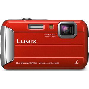 Panasonic LUMIX DMC-TS30 Active Lifestyle Tough Red Digital Camera