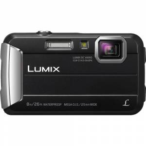 Panasonic LUMIX DMC-TS30 Active Tough Black Digital Camera 16GB Bundle