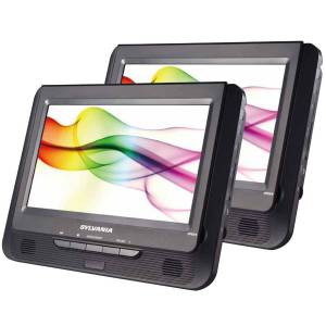 Sylvania SDVD9805 9 Twin Dual Screen DVD Player