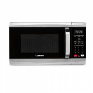Cuisinart 700 Watt 0.7 Cubic Foot Microwave Oven + Knife Set and Cutting Board