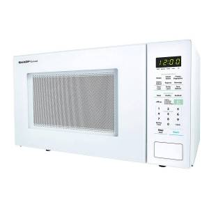 Sharp ZSMC1441CW 1,000W Countertop Microwave Oven, 1.4 Cubic Foot, White