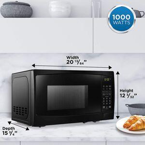 DANBY 1.1 Cu.Ft. Countertop Microwave in Black - DBMW1120BBB