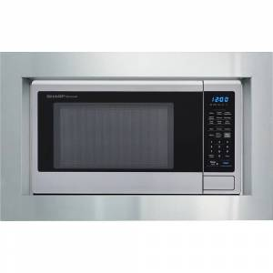 Sharp 30 Built-in Microwave Oven Trim Stainless Steel Kit - RK49S30F