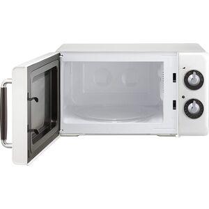 Magic Chef 0.7 Cu Ft 700 Watt Retro Countertop Microwave - MCD770CB (White)