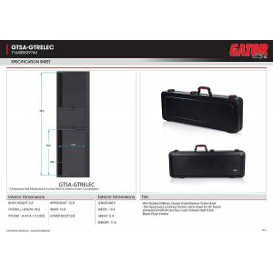 Gator TSA Guitar Series Electric Guitar Case
