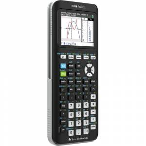 Texas Instruments Plus CE Graphing Calculator in Black - 84PLCE/TBL/1L1