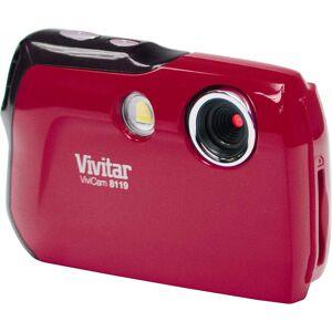 Vivitar ViviCam 8.1 MP Digital Camera in Red V8119-RED/KIT-AMX