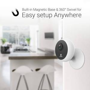 EZVIZ C1C 1080p Indoor WiFi Security Camera Smart Motion Detection Zone