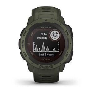 Garmin Instinct Solar Rugged Outdoor Watch Tactical Edition - Moss (010-02293-14)