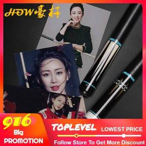 how official store original how pool cue all handmade high-end billiard cue black 8 professional athlete use autographed p