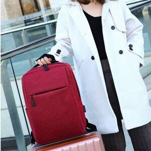 school backpack simple canvas backpack male/female school lapbackpack for teenagers travel bagpack rucksack new
