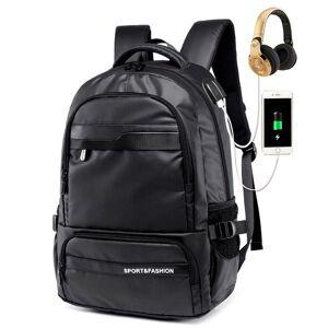 2019 new multifunctional lapbackpack sleeve case bag waterproof usb charge port schoolbag hiking travel bag