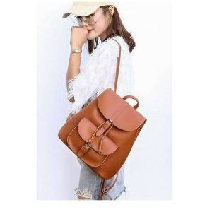 women backpacks leather female travel shoulder back pack new preppy style college school bags for teenage girls