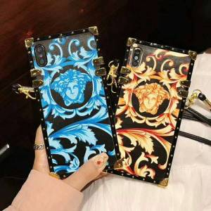 19ss fashion brand phone case for iphonex/xs xr xsmax 7p/8p 7/8 6p/6sp 6/6s france luxury new designer iphone case with lanyards wholesale