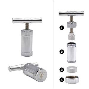 Miniature stainless steel pipe