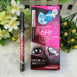 women lady black waterproof pen liquid eyeliner eye liner pencil make up beauty comestics ing