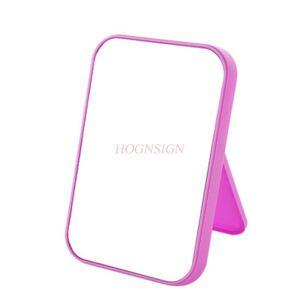 simple and stylish cute single-sided makeup small mirror deskvanity mirror beauty princess folding portable square mi