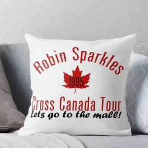Redbubble Let's go to the mall Throw Pillow