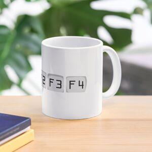 Redbubble Keyboard F1 Mug