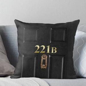 Redbubble 221b Bag Throw Pillow