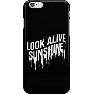Redbubble White Drip Text (Black) Snap Case for iPhone 6 & iPhone 6s