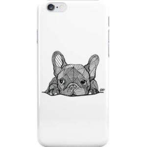 Redbubble French Bulldog Puppy Snap Case for iPhone 6 & iPhone 6s