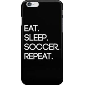 Redbubble Eat. Sleep. Soccer. Repeat Snap Case for iPhone 6 & iPhone 6s